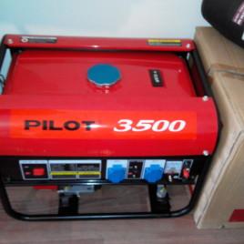 Генератор Pilot 3500, бензин, 2.5кВт.