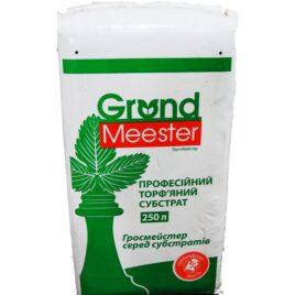Торф'яний субстрат GrondMeester  GM3 SOUR 0-20мм, 250л,  NPK 14:16:18 (1кг/м3), рН-кислий